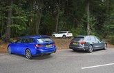 Audi A4 Avant vs BMW 3 Series Touring vs Volvo V60 Cross Country