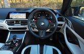 BMW M4 2021 dashboard