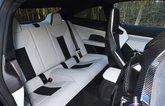 BMW M4 2021 rear seats