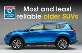 Most and least reliable older SUVs