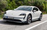 Porsche Taycan Cross Turismo front