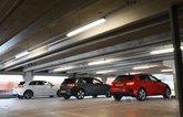 Audi A3 TFSIe and Volkswagen Golf GTE vs Mercedes A250e rears