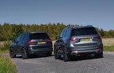 BMW X7 vs Mercedes GLS rears