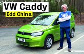 VW Caddy with Edd China