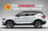 Cheapest cars from every brand