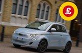 Fiat 500 with Target Price logo