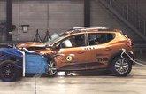 Dacia Sandero Stepway Euro NCAP crash test