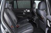 Mercedes GLS 2021 rear seats