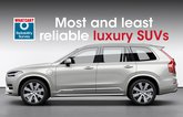 most and least reliable luxury suvs