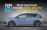 Most and least reliable older electric and hybrid cars