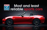 Most and least reliable sports cars