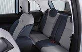 Fiat 500 electric 2021 rear seats