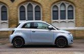 Fiat 500 electric 2021 side
