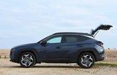 Hyundai Tucson Hybrid 2021 boot open