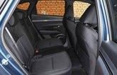 Hyundai Tucson Hybrid 2021 rear seats
