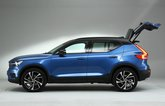 Volvo XC40 side with boot open