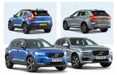 Volvo XC40 vs Volvo XC60 studio pics