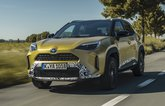 Toyota Yaris Cross 2021 front left tracking