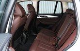 BMW iX3 2021 rear seats