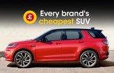 Every brand's cheapest SUV
