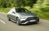 Mercedes C-Class front corner