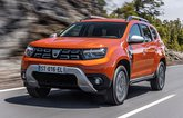 2021 Dacia Duster front