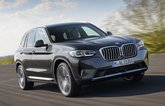 2021 BMW X3 front right exterior