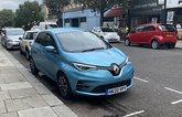 Renault Zoe long-term parked