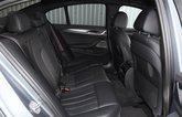 BMW 530e 2021 rear seats