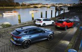 BMW X1 vs Cupra Formentor vs Volvo XC40 rears