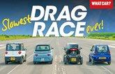 Citroen Ami drag race