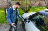 Kiall charging Mini Countryman PHEV