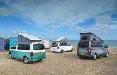 Camper van comparison test rears