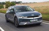 Hyundai Ioniq 5 2021 front right tracking