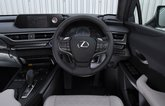 Lexus UX300e 2021 dashboard