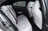 Lexus UX300e 2021 rear seats