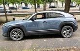 MX-30 long-term happy snap car in profile