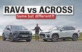 Toyota RAV4 vs Suzuki Across