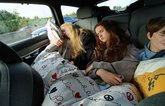 Volvo V90 LT rear seats