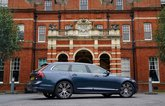 Volvo V90 side on to show length