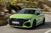 Audi RS3 Saloon 2022 front