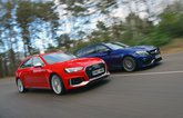Audi RS4 Avant vs Mercedes-AMG C63 S Estate