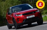 Land Rover Discovery Sport with Target Price logo