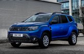 2022 Dacia Duster Commercial front