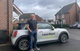 Mike with his Mini Electric
