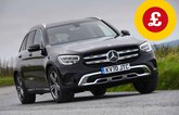 Mercedes GLC with Target Price logo
