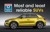 Most and least reliable SUVs
