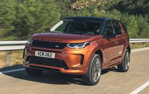 Land Rover Discovery Sport 2019 LHD front left tracking