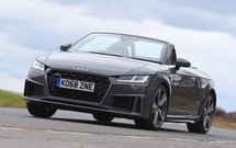 Audi TT Roadster 2019 front right cornering
