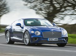 Bentley Continental GT front